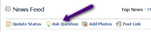 Facebook's new Answers Function