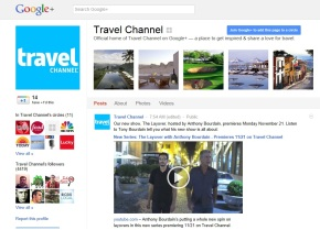 travel channel google plus